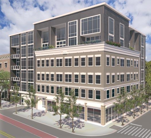 The Thorndike building render